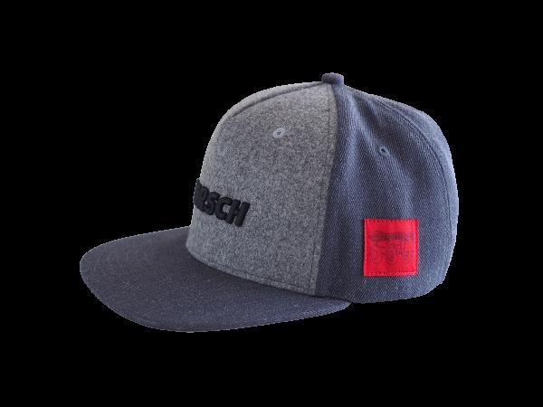 Cap Flat-Peak Leeb grau